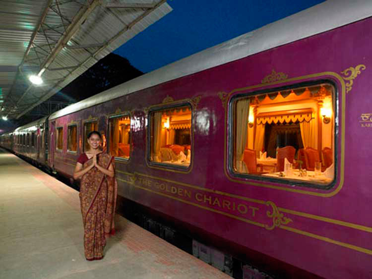 Luxury Trains In India The Palace On Wheels