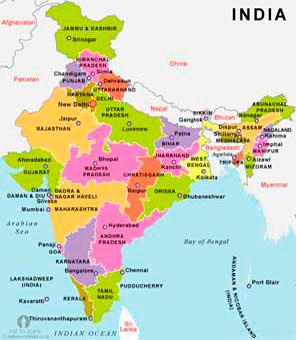 Territories of India